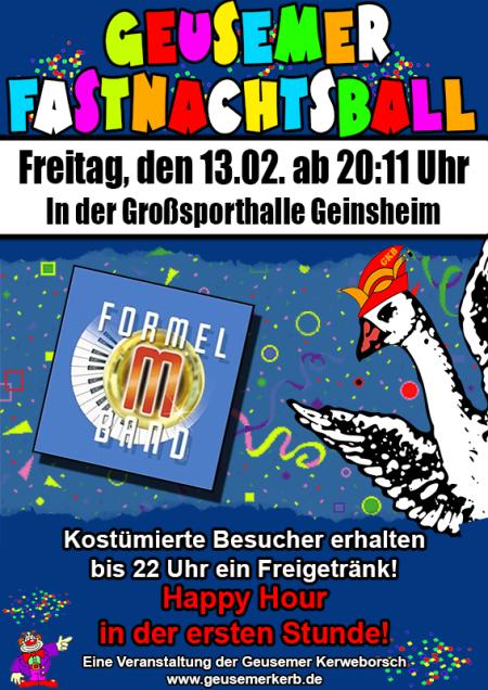 Flyer Fastnachtsball