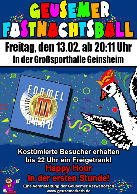 Flyer Fastnachtsball