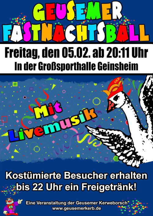 Flyer_Fastnachtsball